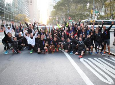 100 participants au marathon de New York 2017