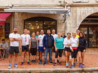 Run matinal et collation chez Harry Salon 27/04